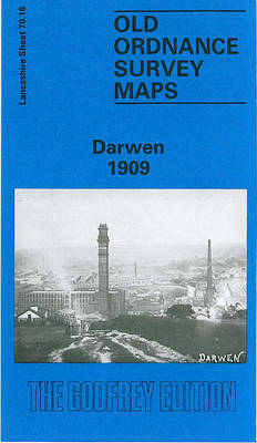 Darwen 1909: Lancashire Sheet 70.16 - Old O.S. Maps of Lancashire (Sheet map, folded)