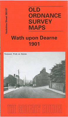 Wath-upon-Dearne - Old O.S. Maps of Yorkshire (Sheet map, folded)