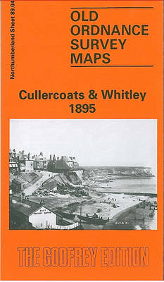 Cullercoats and Whitley Bay 1895: Northumberland Sheet 89.04 - Old O.S. Maps of Northumberland (Sheet map, folded)