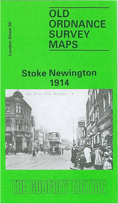 Stoke Newington 1914: London Sheet  030.3 - Old Ordnance Survey Maps of London (Sheet map, folded)