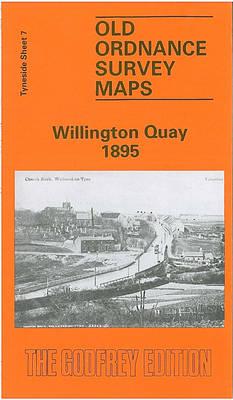 Willington Quay 1895: Tyneside Sheet  7 (Sheet map, folded)