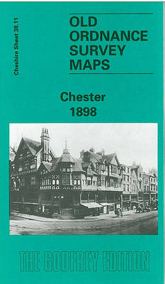Chester - Old O.S. Maps of Cheshire (Sheet map, folded)