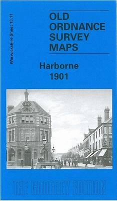Harborne 1901: Warwickshire Sheet 13.11 - Old O.S. Maps of Warwickshire (Sheet map, folded)