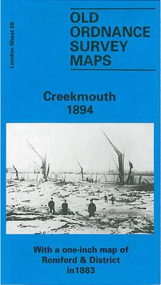 Creekmouth 1894: London Sheet 068.2 - Old Ordnance Survey Maps of London (Sheet map, folded)