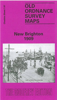 New Brighton 1909: Cheshire Sheet 7.07a - Old O.S. Maps of Cheshire (Sheet map, folded)