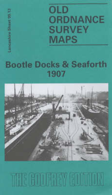 Bootle Docks and Seaforth 1907: Lancashire Sheet 99.13 - Old O.S. Maps of Lancashire (Sheet map, folded)