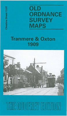 Tranmere & Oxton 1909: Cheshire Sheet 13.07 - Old O.S. Maps of Cheshire (Sheet map, folded)