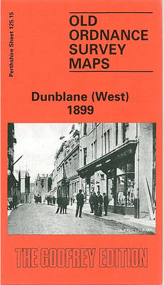 Dunblane (West) 1899: Perthshire Sheet 125.15 - Old O.S. Maps of Perthshire (Sheet map, folded)