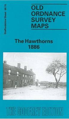 The Hawthorns 1886: Staffordshire Sheet 68.15 - Old O.S. Maps of Staffordshire (Sheet map, folded)