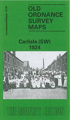 Carlisle (SW) 1924: Cumberland Sheet 23.07 - Old O.S. Maps of Cumberland (Sheet map, folded)