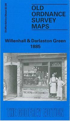 Willenhall and Darlaston Green 1888: Staffordshire Sheet 63.09a - Old O.S. Maps of Staffordshire (Sheet map, folded)