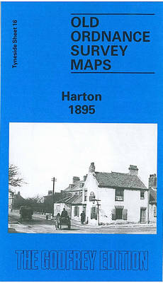 Harton 1895: Tyneside Sheet 16 - Old Ordnance Survey Maps of Tyneside (Sheet map, folded)