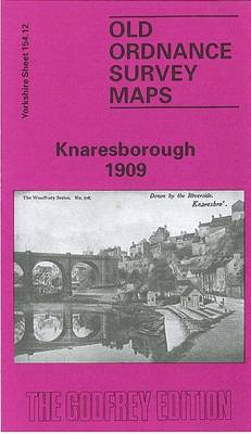 Knaresborough 1909: Yorkshire Sheet 154.12 - Old O.S. Maps of Yorkshire (Sheet map, folded)