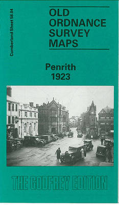 Penrith 1923: Cumberland Sheet 58.04 - Old O.S. Maps of Cumberland (Sheet map, folded)