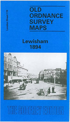 Lewisham 1894: London Sheet 119.2 - Old O.S. Maps of London (Sheet map, folded)