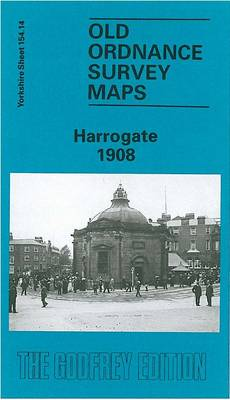 Harrogate 1908: Yorkshire Sheet 154.14 - Old O.S. Maps of Yorkshire (Sheet map, folded)