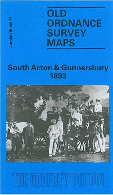 South Acton and Gunnersbury 1893: London Sheet 071.2 - Old Ordnance Survey Maps of London (Sheet map, folded)