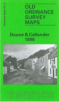 Doune and Callander 1898: Perthshire Sheet 125.13 - Old O.S. Maps of Perthshire (Sheet map, folded)