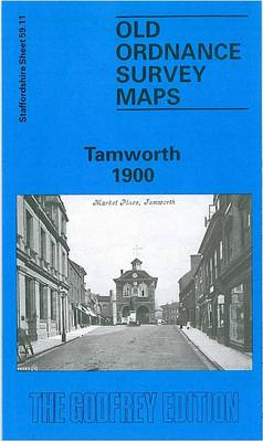 Tamworth 1900: Staffordshire Sheet 59.11 - Old O.S. Maps of Staffordshire (Sheet map, folded)