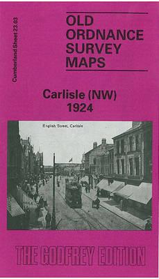 Carlisle (NW) 1924: Cumberland Sheet 23.03 - Old O.S. Maps of Cumberland (Sheet map, folded)