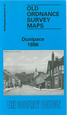 Dunipace 1896: Stirlingshire Sheet 23.12 - Old O.S. Maps of Stirlingshire (Sheet map, folded)
