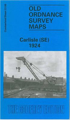 Carlisle (SE) 1924: Cumberland Sheet 23.08 - Old O.S. Maps of Cumberland (Sheet map, folded)