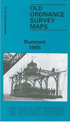Runcorn 1905: Lancashire Sheet 115.13 - Old O.S. Maps of Lancashire (Sheet map, folded)