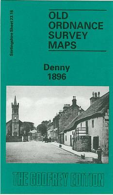 Denny 1896: Stirlingshire Sheet 23.16 - Old O.S. Maps of Stirlingshire (Sheet map, folded)