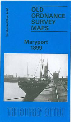 Maryport 1900: Cumberland Sheet 44.08 - Old O.S. Maps of Cumberland (Sheet map, folded)