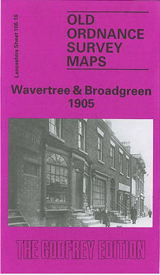 Wavertree and Broadgreen 1905: Lancashire Sheet 106.16 - Old O.S. Maps of Lancashire (Sheet map, folded)