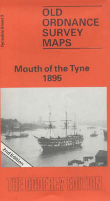 Mouth of the Tyne 1895: Tyneside Sheet 3 - Old Ordnance Survey Maps of Tyneside (Sheet map, folded)