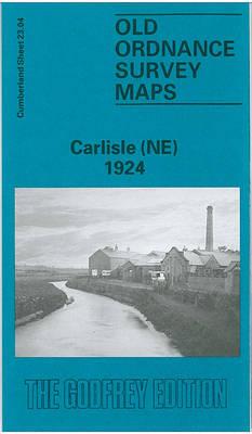 Carlisle (NE) 1924: Cumberland Sheet 23.04 - Old O.S. Maps of Cumberland (Sheet map, folded)