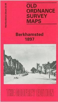 Berkhamsted 1897: Hertfordshire Sheet 33.05 - Old O.S. Maps of Hertfordshire (Sheet map, folded)