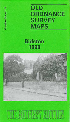 Bidston 1898: Cheshire Sheet 7.14 - Old O.S. Maps of Cheshire (Sheet map, folded)