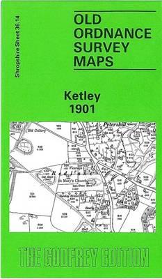 Ketley 1901: Shropshire Sheet 36.14 - Old O.S. Maps of Shropshire (Sheet map, folded)