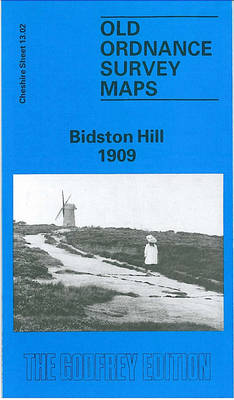 Bidston Hill 1909: Cheshire Sheet 13.02 - Old O.S. Maps of Cheshire (Sheet map, folded)