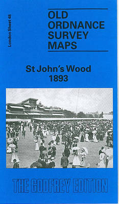 St.John's Wood 1893: London Sheet   048.2 - Old Ordnance Survey Maps of London (Sheet map, folded)