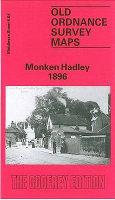 Monken Hadley 1896: Middlesex Sheet  06.04 - Old O.S. Maps of Middlesex (Sheet map, folded)