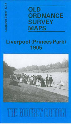 Liverpool (Princes Park) 1905: Lancashire Sheet 113.03 - Old O.S. Maps of Lancashire (Sheet map, folded)