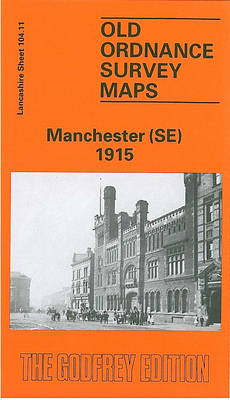 Manchester (SE) 1915: Lancashire Sheet 104.11 - Old O.S. Maps of Lancashire (Sheet map, folded)