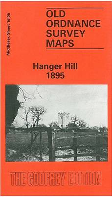 Hanger Hill 1895: Middlesex Sheet  16.05a - Old O.S. Maps of Middlesex (Sheet map, folded)