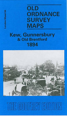 Kew, Gunnersbury and Old Brentford 1894: London Sheet 084 - Old O.S. Maps of London (Sheet map, folded)