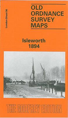 Isleworth 1894: London Sheet 096.2 - Old O.S. Maps of London (Sheet map, folded)
