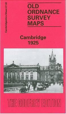 Cambridge 1925: Cambridgeshire Sheet 47.02 - Old Ordnance Survey Maps of Cambridgeshire (Sheet map, folded)