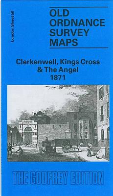 Clerkenwell, Kings Cross and the Angel 1871: London Sheet 050.1 - Old Ordnance Survey Maps of London (Sheet map, folded)