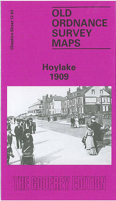 Hoylake 1909: Cheshire Sheet 12.03 - Old O.S. Maps of Cheshire (Sheet map, folded)