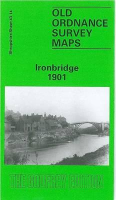 Ironbridge 1901: Shropshire Sheet 43.14 - Old O.S. Maps of Shropshire (Sheet map, folded)