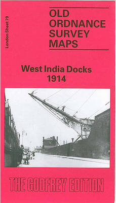 West India Docks 1914: London Sheet 079.3 - Old O.S. Maps of London (Sheet map, folded)
