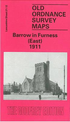 Barrow-in-Furness (East) 1908: Lancashire Sheet 21.12 - Old O.S. Maps of Lancashire (Sheet map, folded)