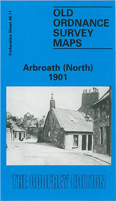 Arbroath (North) 1901: Forfarshire Sheet 46.11 - Old O.S. Maps of Forfarshire (Sheet map, folded)